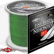 Плетеный шнур Mikado Nihonto Fine Braid 0,23 green (300 м)