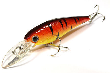 Воблер Lucky Craft Bevy Shad 60F_0289 Fire Tiger 202*