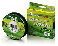 Плетёнка Allvega Bullit Braid 135M Dark Green 0,08mm
