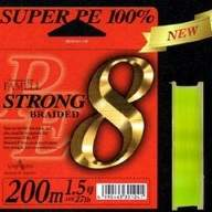 Леска плетеная Yamatoyo Super PE Strong 8 Braid - 0.6PE -200m