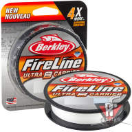 Плетеный шнур Berkley Fireline Ultra 8 Crystal 150m 0.25mm 17.4kg