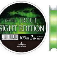 Леска монофильная Yamatoyo Famell Trout Sight Edition 100 0.9 PE