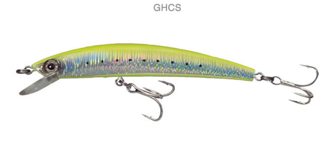 Воблер YO-ZURI CRYSTAL MINNOW(F) 70mm F1001-GHCS