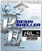 Леска плетеная Yamatoyo Resin Sheller Grey 4.0 PE 150m.