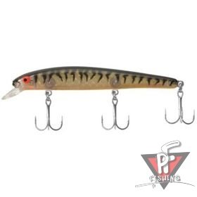 """Bomber""  BSW16A GPTBRO ""Long A"" (15,2см 25гр. 2-3ft) Gold Prism/Black/OB"