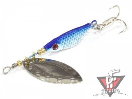 Блесна EXTREME FISHING Absolute Obsession №0 3g 17 S/Blue/S